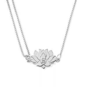 alex & ani lotus peace petals adjustable necklace